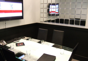 Bookable meeting room